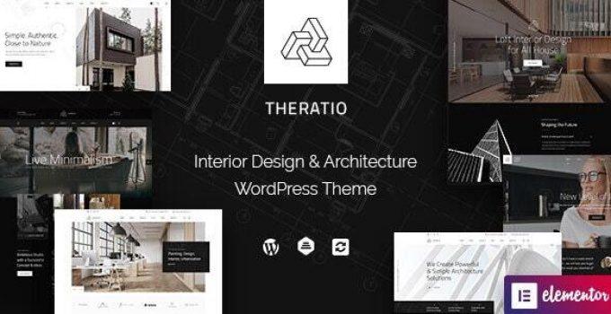 Theratio - Architecture & Interior Design Elementor
