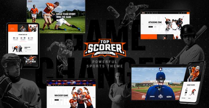 TopScorer - Sports WordPress Theme