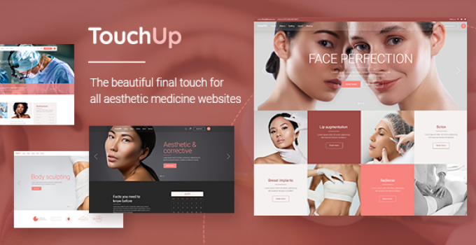 TouchUp - Cosmetic and Plastic Surgery Theme