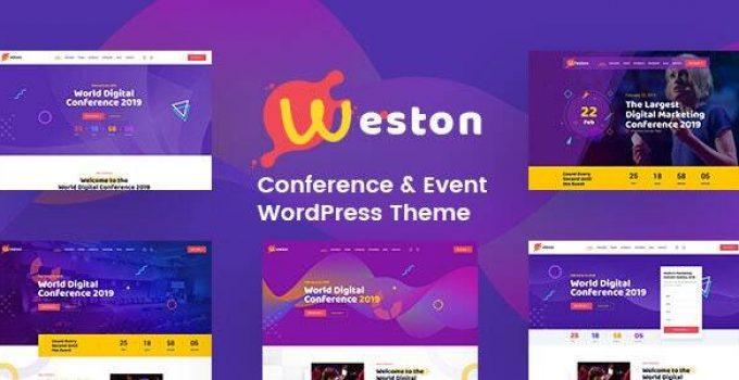 Weston - Conference & Event WordPress Theme