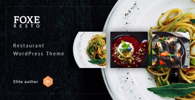 Foxeresto - Restaurant WordPress Theme