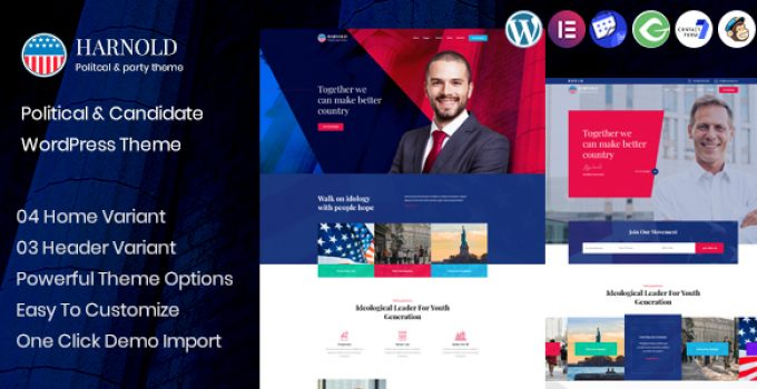 Harnold - Political Campaign WordPress Theme