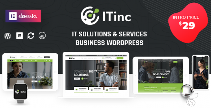 ITInc - Technology Services WordPress Theme