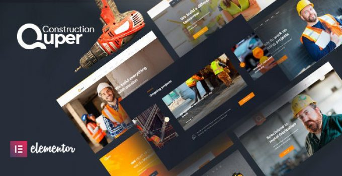 Quper | Construction and Architecture WordPress Theme