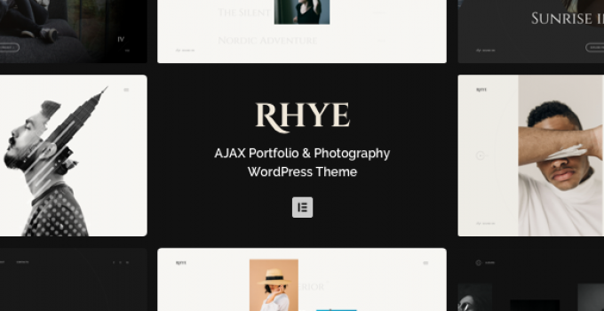 Rhye – AJAX Portfolio WordPress Theme