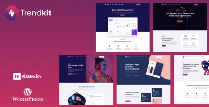 Trendkit - Software & Startup Agency Theme