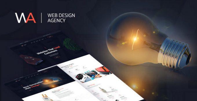 Wagency - Web Design Company WordPress Theme