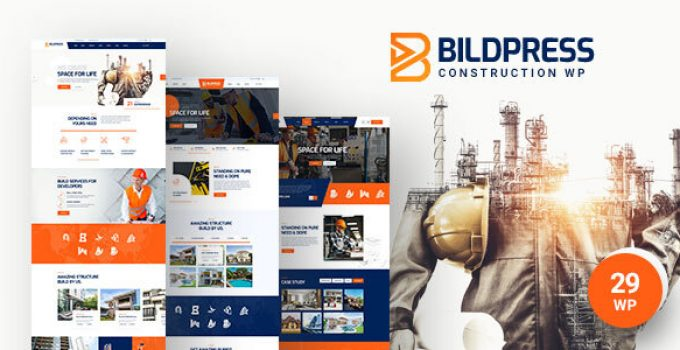 BildPress - Construction WordPress Theme