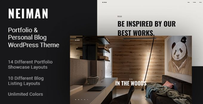Neiman - Portfolio & Personal Blog WordPress Theme