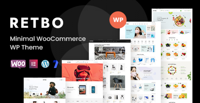 Retbo - Multipurpose WooCommerce WordPress Theme