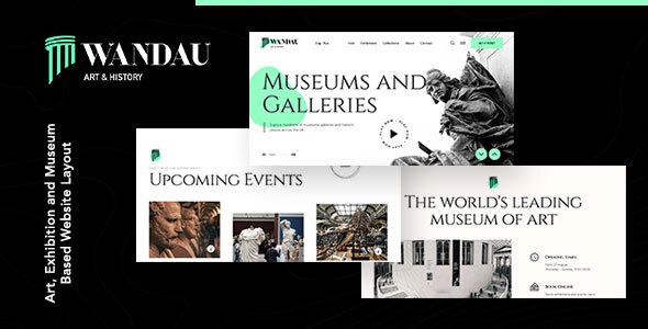 Wandau | Art & History Museum WordPress Theme FREE Download | wpnull24