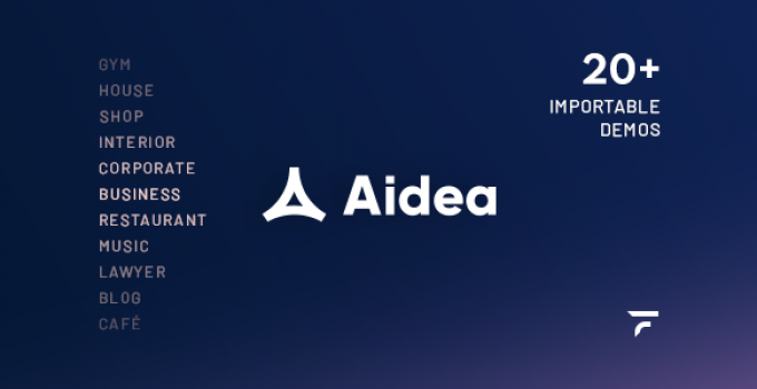 Aidea — Business WordPress Theme