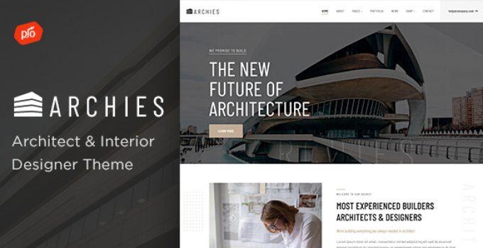 Archies - Architect & Interior Designer Theme