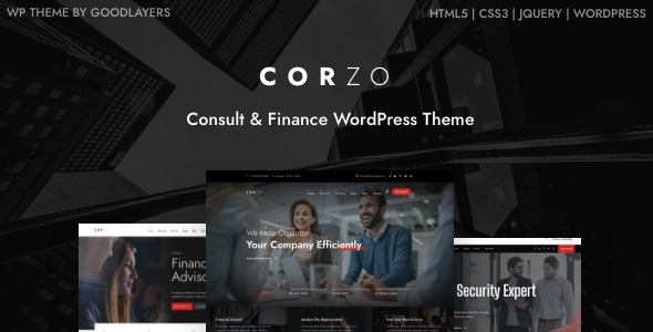 Corzo - Consulting & Finance FREE Download