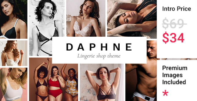 Daphne - Lingerie Shop Theme
