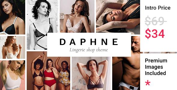 Daphne - Lingerie Shop Theme FREE Download