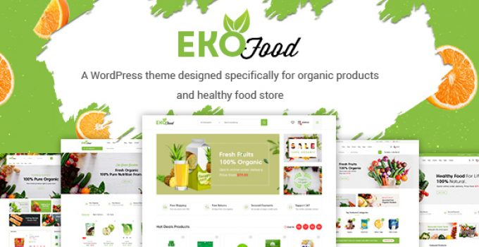 EkoFood - Organic and Food Store Theme