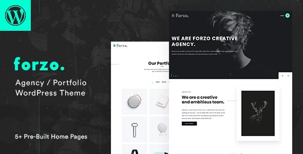 Forzo - Creative Portfolio Agency Theme FREE Download