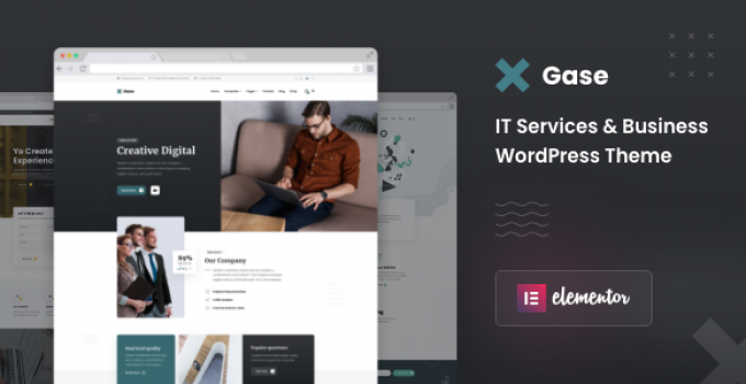 Gase - IT Services & Business WordPress Theme