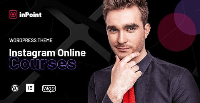 InPoint - Coaching & Online Courses WordPress Theme
