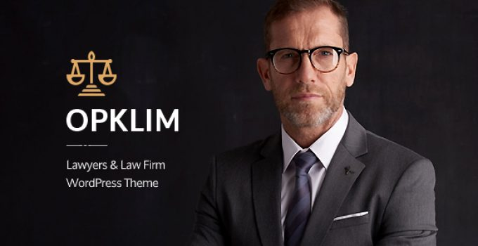 Opklim - Law Firm WordPress Theme