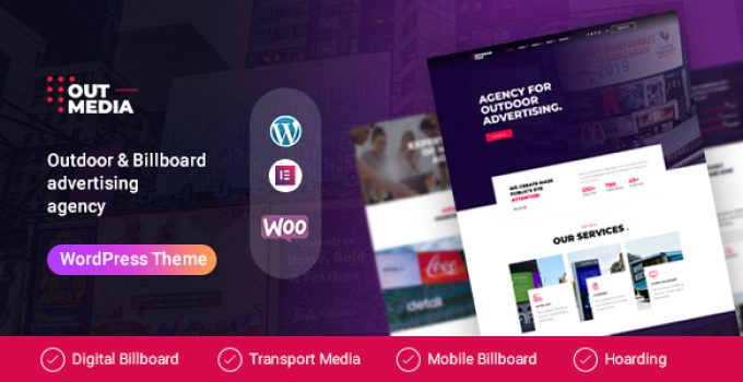 Outmedia - Outdoor Advertising & Billboard Agency WordPress Theme