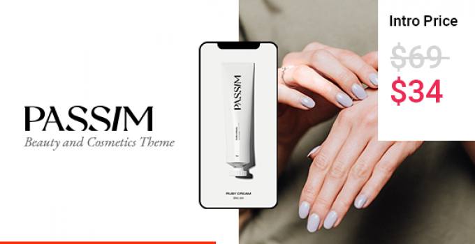 Passim - Beauty and Cosmetics Theme