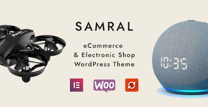 Samral - Electronic WooCommerce Theme