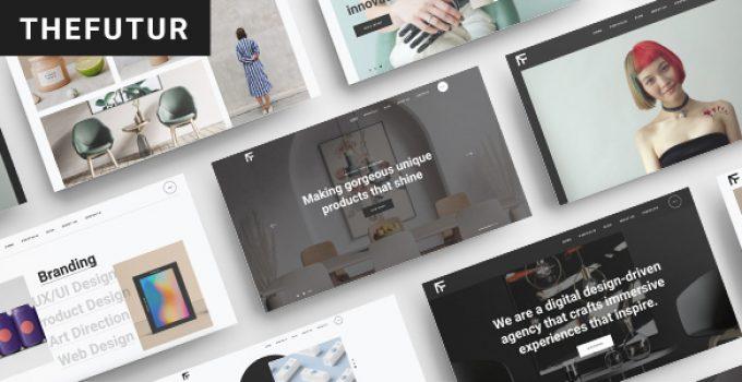 TheFutur - Portfolio WordPress Theme