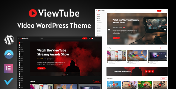 ViewTube | Video WordPress Theme FREE Download