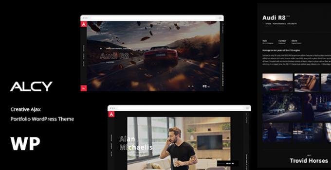 Alcy -Creative Ajax Portfolio WordPress Theme