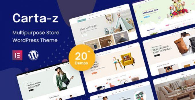 Cartaz - Multipurpose WooCommerce Theme