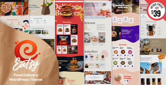 Eatsy - Food Delivery WordPress Theme