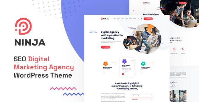 Ninja - SEO & Digital Marketing WordPress Theme