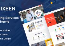 Pixeen - Printing Services Company WordPress Theme