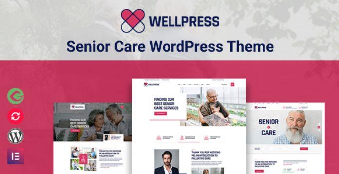WellPress - Senior Care WordPress Theme