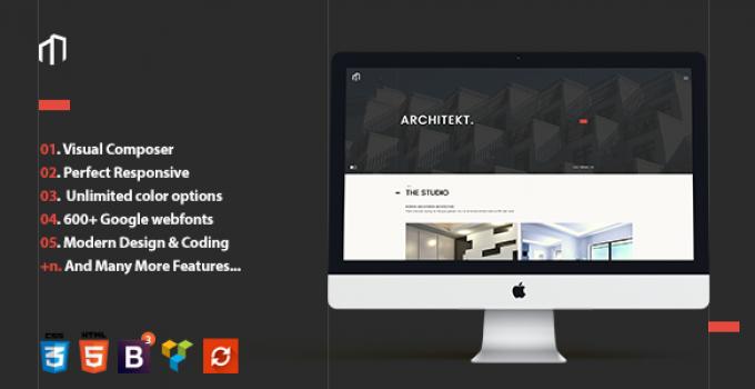 Architekt - Responsive Architecture Theme