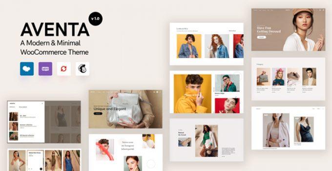 Aventa - Mnimal WooCommerce theme