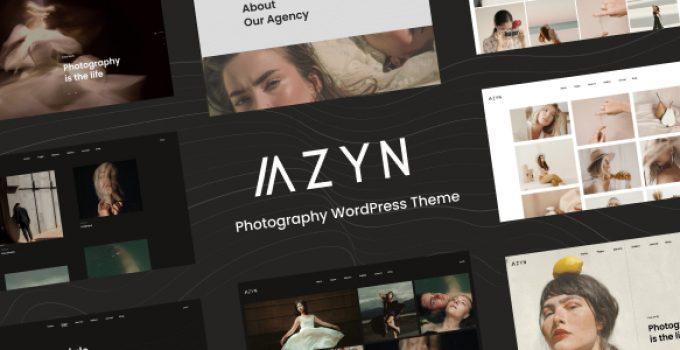 AZYN - Photography WordPress