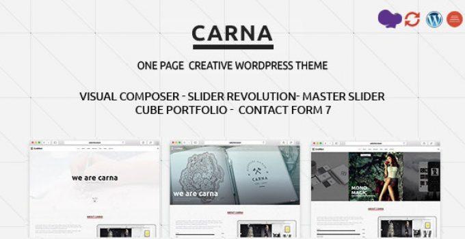 Carna   Responsive Multi-Purpose WordPress Theme