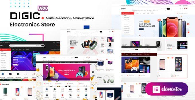 Digic – Electronics Store WooCommerce Theme