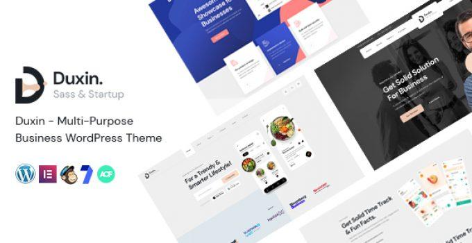 Duxin - Multi-Purpose Business WordPress Theme