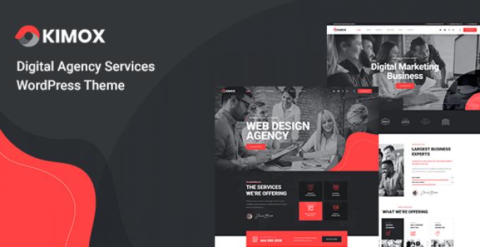 Kimox - Digital Agency Services WordPress Theme