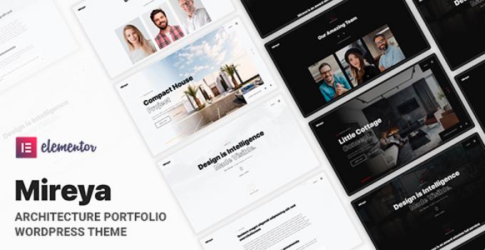 Mireya - Architecture Portfolio WordPress Theme