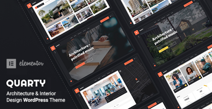 Quarty - Architecture & Interior Design WordPress Theme