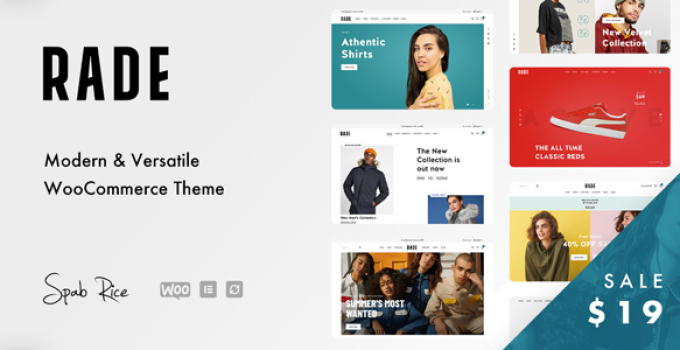Rade - A Versatile WooCommerce Theme