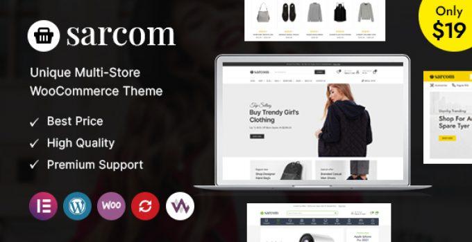 Sarcom - Fashion WooCommerce Theme