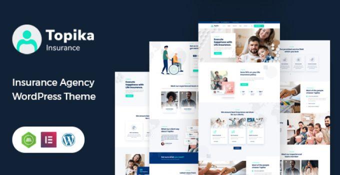 Topika - Insurance Company WordPress Theme