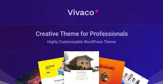 Vivaco | Multipurpose Creative WordPress Theme