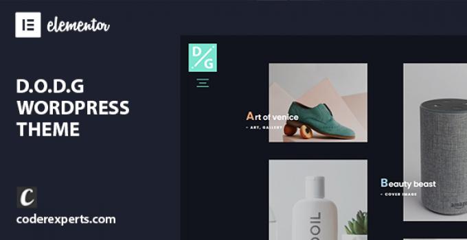 D.O.D.G - Creative Multi-Purpose WordPress Theme